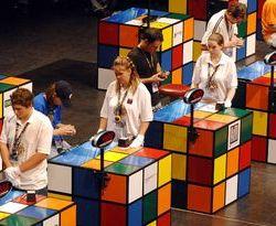 Чемпионат мира по скоростной сборке кубика Рубика в Бразилии